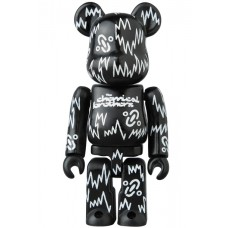 Bearbrick 100% Series 34 - (Pattern) Chemical Brothers
