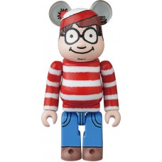 Bearbrick 100% Series 35 - (Pattern) Where's Wally