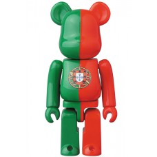 Bearbrick 100% Series 34 - (Flag) Portugal