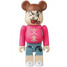 Bearbrick 100% Series 34 - (Hero) Bunshun Kun