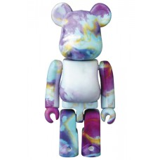 Bearbrick 100% Series 40 - (Pattern) Purple Haze