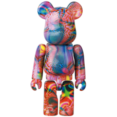 Bearbrick 100% Series 41 - (Pattern) Psychedelic